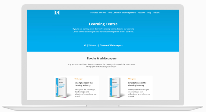 FacilityApps-learning-centre