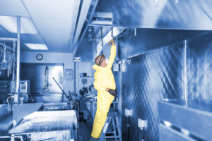 food industry haccp cleaning service software app
