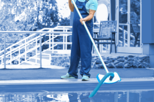 resort cleaning service software app